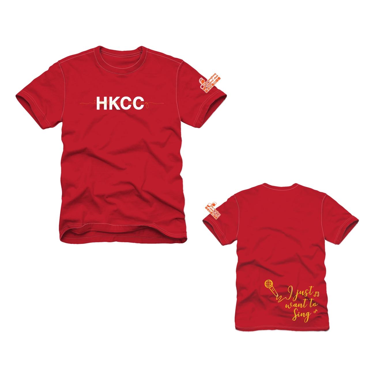 HKCC T-shirt (Red)